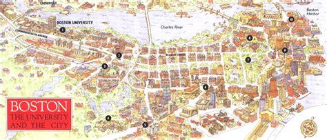 boston college map murad s taqqu