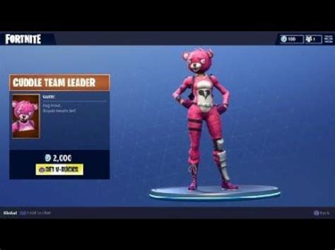fortnite cuddle team leader skin fortnite battle royale