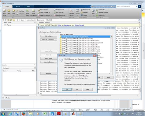Read Mat Matlab by Why Is It Sometimes Impossible To Save The Pathdef In 2014a Matlab Answers Matlab Central