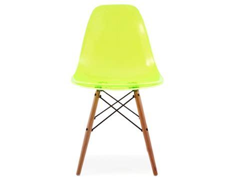 chaise dsw vert transparent
