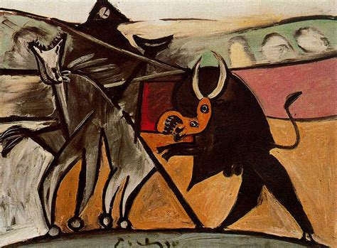 picasso paintings bullfight bullfight c 1934 pablo picasso wikiart org