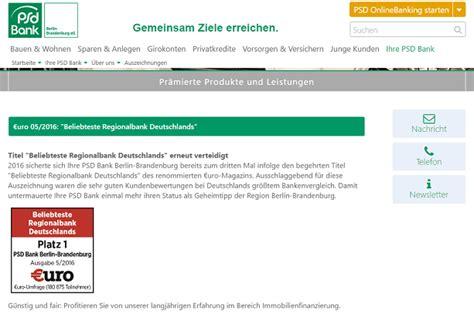 psd bank berlin brandenburg psd bank berlin brandenburg erfahrungen 187 aktueller test