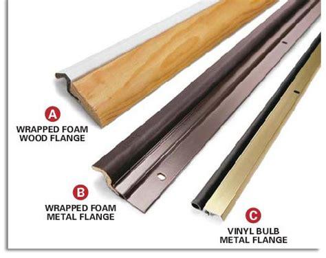Exterior Door Weather Stripping Replacement Weatherstripping Doors Increases Home Energy Efficiency
