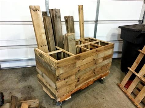 make all from wood 15 extremely genius diy pallet storage ideas