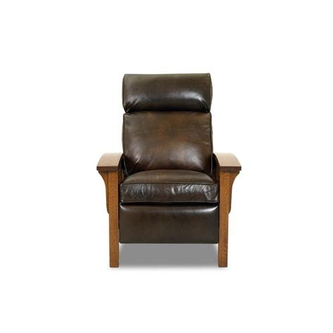 comfort design comfort design clp712 hlrc mission leather reclining chair
