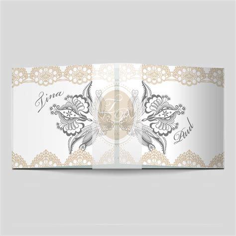 Spitze Einladungskarten by Vintage Einladungskarte Spitzen Hochzeit