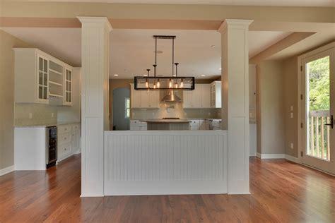 kitchen partition wall designs 21360 christmas lane excelsior zehnder homes inc