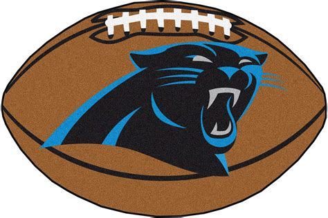 rug football carolina panthers football rug interiordecorating