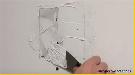 how to replace drywall sections video how to repair small holes and cracks on your