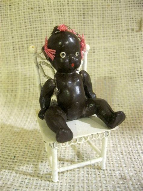 bisque black doll reserved for sue vintage black americana bisque doll