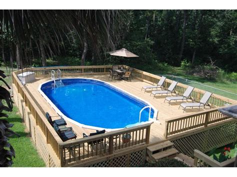 Backyard Above Ground Pool What You Must About Above Ground Pool Ideas Homestylediary