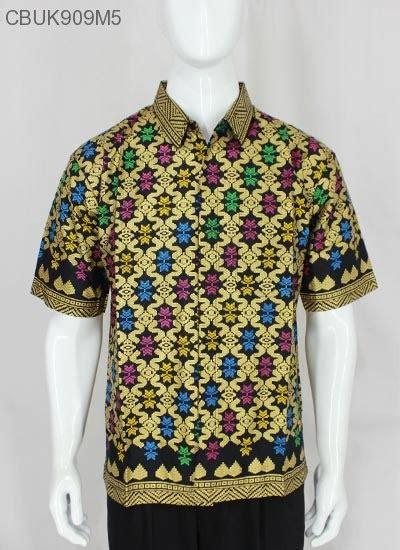 Kemeja Batik Lengan Pendek Prodo Kapal kemeja pendek prodo songket kemeja lengan pendek murah batikunik