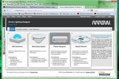 online lighting layout designer arrow electronics launches online lighting design tools to