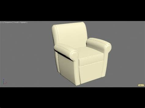 3d max sofa tutorial 3ds max tutorial modelling a sofa spanish youtube
