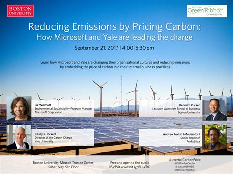 1 Silber Way 9th Floor - reducing emissions by pricing carbon how microsoft and