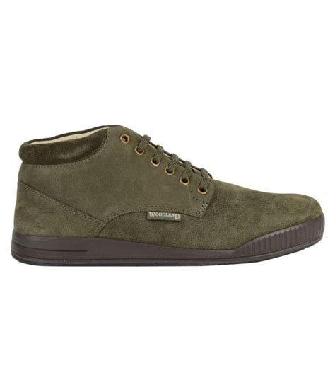 woodland olive casual boot buy woodland olive casual boot at best prices in india on