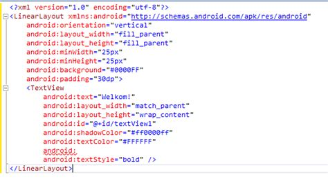 android layout xml xsd get intellisense for axml files in visual studio 爱程序网