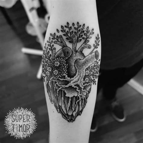 real heart tattoos 26 awesome real tattoos designs and images