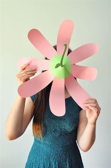 Flower Hat paper flower hats