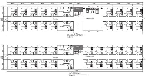dormitory floor plan dormitory 40 rooms pacific building company