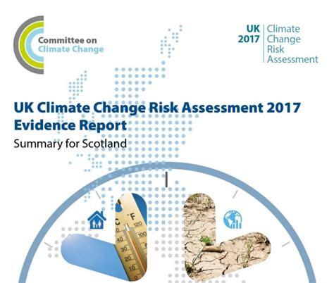 adaptation scotland uk climate change risk assessment