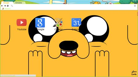 themes google chrome adventure time adventure time theme for google chrome by julenerumbo on