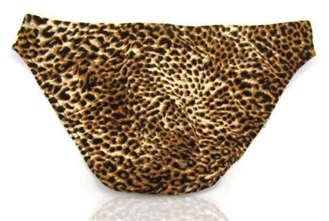 Leopard Briefs leopard men s briefs shorts mu262