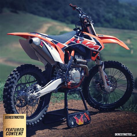 Ktm 350 Sxf Review 2015 Ktm 350 Sx F Review Vs 2014 450 Sx F Derestricted
