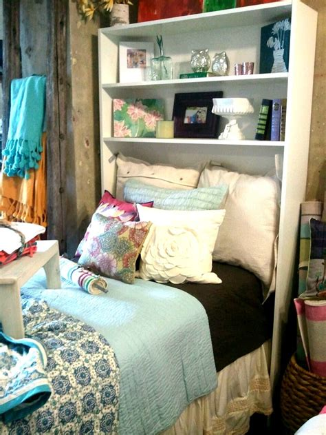 dorm bed shelf beds shelving and love this on pinterest