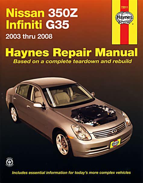 car repair manuals download 2008 infiniti g37 user handbook haynes owners workshop car manual nissan 350z infiniti g35 03 08 72011 ebay