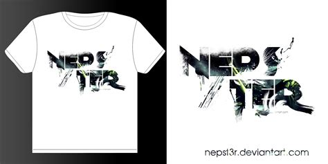 t shirt logo layout new nepster t shirt design by nepst3r on deviantart
