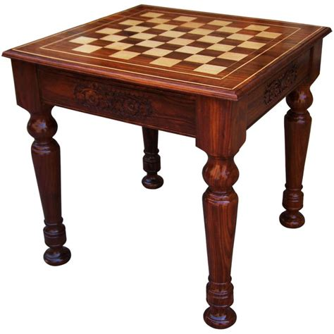 chess table wooden chess table solid coffee table family chess table