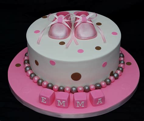 Fondant Baby Shower Cake by Baby Shower Cakes Baby Shower Cake Ideas No Fondant