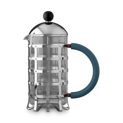 alessi kaffeebereiter kaffeebereiter mit pressfilter mgpf8 f 252 r 8 tassen alessi