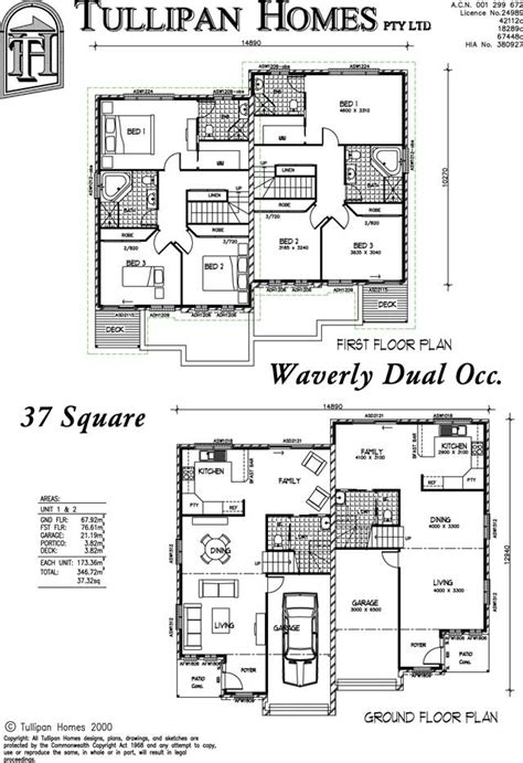 dual occupancy floor plans waverly dual occupancy home design tullipan homes