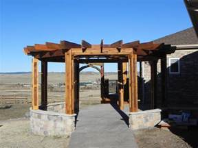 Pergola Round by Portfolio Craftsman Outdoor Living