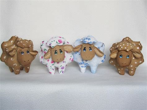 And Handmade - handsome handmade handmade cow and sheep toys