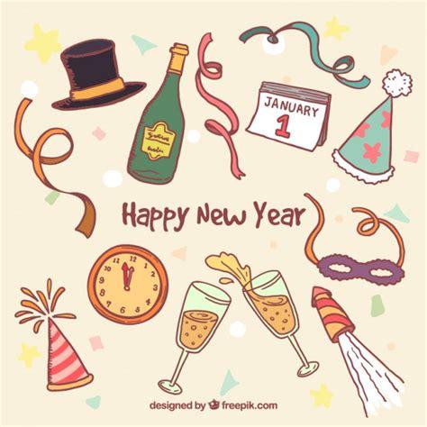 new year elements 2015 elementos de de a 241 o nuevo descargar vectores premium