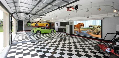 Car Port Designs by 50 Man Cave Garage Ideas Modern To Industrial Designs