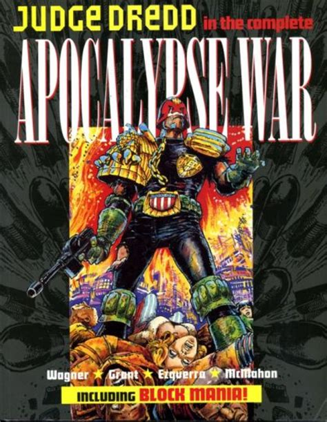 judge dredd the complete judge dredd the apocalypse war tp apocalypse war the complete apocalypse war on collectorz