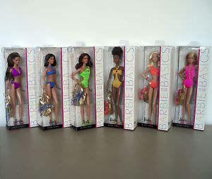 Barbie Basics Swimsuit Collection 003 Lot of 6 Dolls Model
