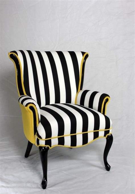 Yellow Chairs Upholstered Design Ideas 25 Best Ideas About Striped Chair On Striped Sofa Upholstered Chairs And Blue And