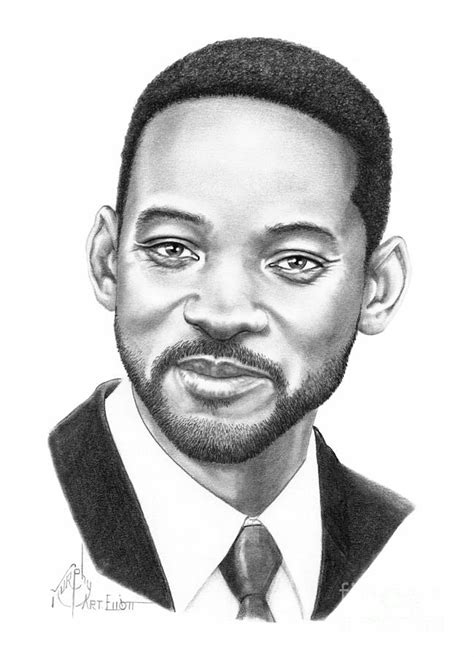 Home Decor Blogs 2014 by Will Smith Drawing By Murphy Elliott