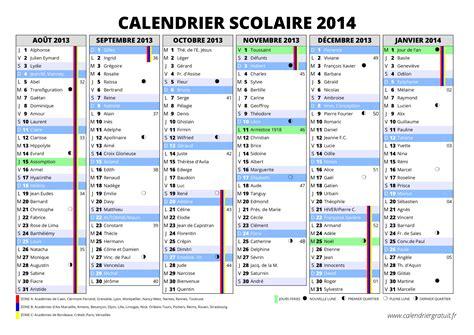 Calendrier Vacances Scolaires 2013 14 Calendrier Des Vacances Scolaires 2013 2014