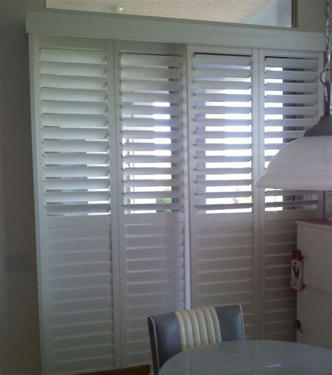 14 Best Track Shutters Images On Pinterest Blinds Shutters On Sliding Patio Doors