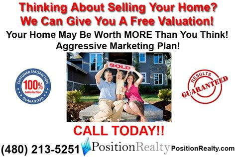 free arizona home valuation position realty
