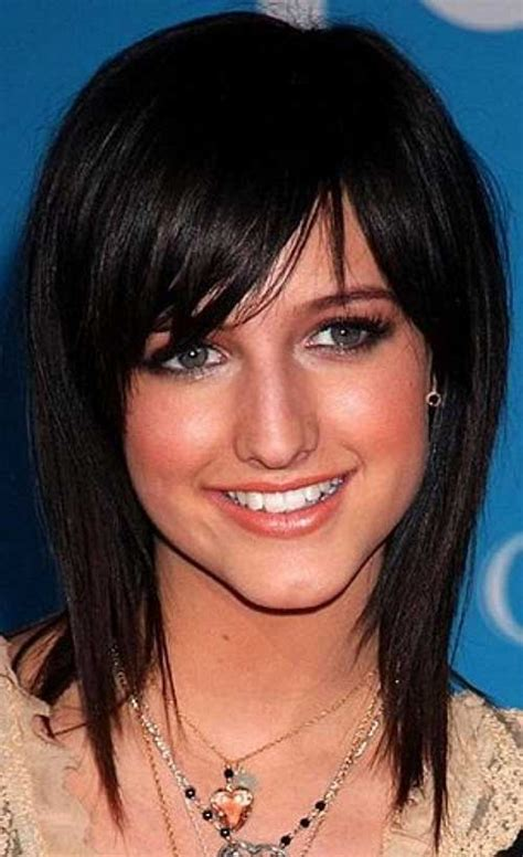haircuts for fine dark hair 25 hairstyles with long bangs hairstyles haircuts 2016