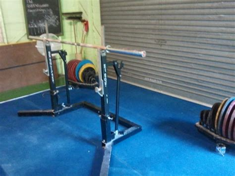 Competition Squat Rack by Breaking The Bar Codhunter