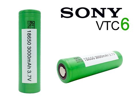 Battery 18650 Sony Vtc6 sony vtc6 18650 15 3000mah flat top