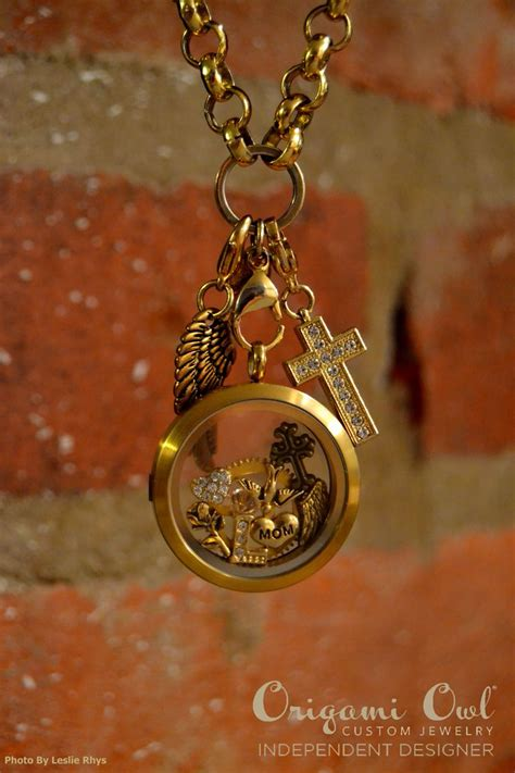 Gold Origami Owl - 277 best jewelry inspiration story lockets images on